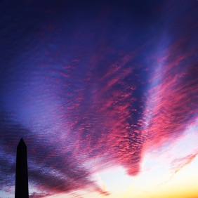 sunset-last-night-and-cold-front-hit-dc_16608235156_o